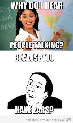 YEAH TEACHERS!