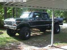 1979 Ford F250 Crew Cab 4X4  Just about the only truck I'd trade for mine