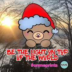 When you let your joy free, you will see the light from the top and feel the meaning, be Merry! #onmeprints #merrychristmas #teddybear #kawaiibear #quote #adorable #xmasquote #happyquote #dailyquote #inspire #livelife #motivational #cutenessoverload #kawaiicute #lovelyquote Christmas Teddy Bear, Merry Christmas, Happy Motivational Quotes, Xmas Quotes, Teddybear, Custom Notebooks, Christmas Card Holders, Daily Quotes, Live Life