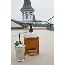 Kentucky Derby Mint Julep- the signature mint julep out of a limited-edition (only 73 were produced) Tiffany & Co. silver cup, filled with Woodford Reserve bourbon, turbinado sugar, Louisville-grown mint, and ice sourced from a Alaskan glacier. My Old Kentucky Home, Kentucky Derby, Louisville Kentucky, Woodford Reserve Bourbon, Julep Recipe, One Carat Diamond, Derby Party, Scotch Whiskey, Mixed Drinks