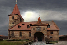 Church Ecclesiastical Fortified Church Middle Ages