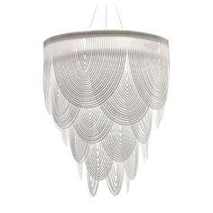 Bruno Rainaldi's Ceremony Suspension Lamp is Classic and Edgy #lighting #design trendhunter.com