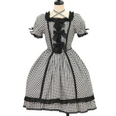 ♡ BABY THE STARS SHINE BRIGHT ♡ Plaid ribbon dress http://www.wunderwelt.jp/products/detail11072.html ☆ ·.. · ° ☆ How to order ☆ ·.. · ° ☆ http://www.wunderwelt.jp/user_data/shoppingguide-eng ☆ ·.. · ☆ Japanese Vintage Lolita clothing shop Wunderwelt ☆ ·.. · ☆