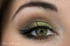 Roses of Beauty: FOTD: Green with Envy