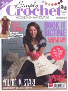 Simply crochet, free book, SIMPLY CROCHET № 13 2014