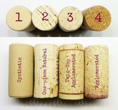 Types of wine corks and tips on cutting and drilling