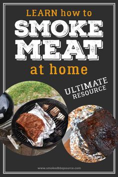 Learn how to smoke meat at home with this ultimate resource list. Learn BBQ smoking basics, how to buy the right smoker, essential accessories for smoking meat and more.