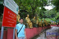 Entrance to Thousand Golden Buddhas Monastery, Hong Kong