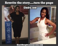 Weight Loss Success Story: Cledra lost 75 pounds and transformed her life!  Read her inspirational story.