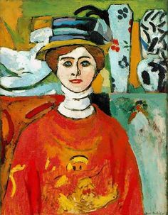 Matisse, Henri (1869-1954) - 1908 The Girl with Green Eyes | by RasMarley