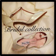 Bridal shoes by Femme Fatale Shoes