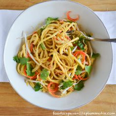 Golden Beet Pad Thai - It's fresh, spicy, savory, sweet, and so good ...