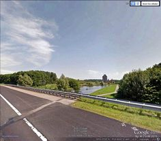 https://flic.kr/p/wyMaGs | Kasteel Almere (Photoshop 1) | along the A6 you can see castle Almere, as here.  (Photo is made in Google Street View (in Google Earth)