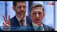 Harward Petraeus under consideration to replace Flynn as national security adviser | Top News Today