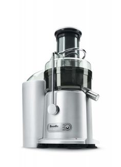 Breville JE98XL Juice Fountain Plus. Heard good things about this one. Waiting for our juicer to arrive so I can stop using my processor.
