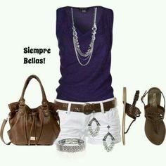 Sencilla ropa de verano