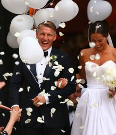 My current favorite wedding photo because it is more of a Basti photo. You have that trademark Basti smile brilliant as the sun for everyone to see. I love this guy and I wish for him as much happiness as he has given us as a footballer.  Again, I just love him. Bastian #Schweinsteiger fan for life. #fussballgott #DieMannschaft (Chapel Wedding-Venice-July132016)