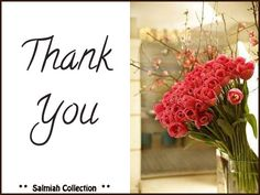 Salmiah Collection: Thank You Card 11