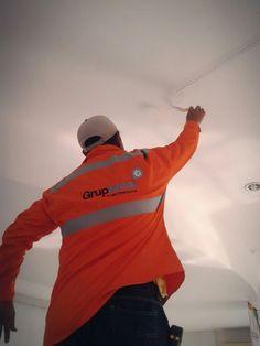 Acabados en estuco plastico en techo y paredes. Www.Gruptecol.com