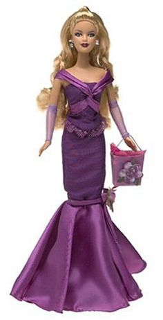 Birthday Wishes Barbie- Purple