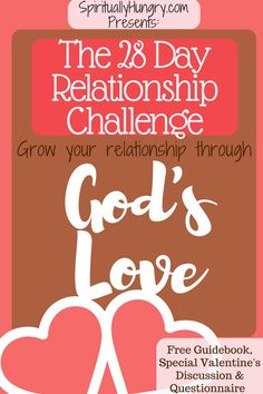Our definition of love always falls flat, come Challenge yourself the next 28 days to growing your love through God!