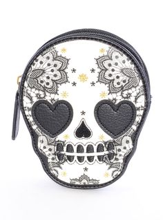 Love Sick Sugar Skull Coin Purse by Loungefly | Wallets | PLASTICLAND