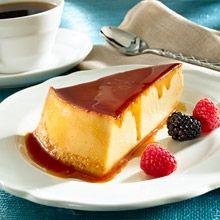 Flan de Queso – Caramel-Topped Cream Cheese Custard | GOYA® Delicious Dessert
