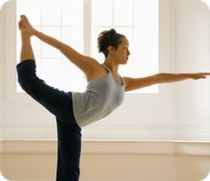 Many yoga poses require superb mind and body control to perform. They can be a real achievement.