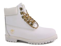 White 6 Inch Timberland Boots Mens