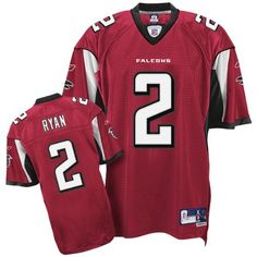 Reebok Atlanta Falcons Matt Ryan Premier Jersey by Reebok. $55.99. Designed to replicate the Pro Cut jersey silhouette, the Reebok® NFL® premier Matt Ryan jersey is crafted with polyester mesh and designed with tackle twill player name and number graphics; screenprinted team logos, wordmarks and sleeve details are also displayed. Don't see your size? Try our customized premier jersey!