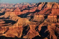 Noord-Amerika - Grand Canyon  Grand Canyon zonsopgang Stockfoto - 10281733