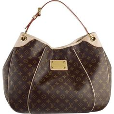 3cbf3a3c8 LOUIS VUITTON MONOGRAM CANVAS GALLIERA GM -Protective studs on the bottom  of the bag -Magnet for secure closing -Comfortable and adjustable shoulder  strap ...
