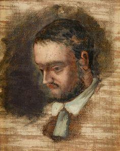 Acheter Tableau 'Portrait d Emile Zola' de Paul Cezanne - Achat d'une reproduction sur toile peinte à la main , Reproduction peinture, copie de tableau, reproduction d'oeuvres d'art sur toile