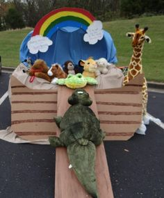 Our Trunk or Treat Theme: Helping Children Discover God's Promise/Noah's Ark