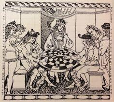 Table d'échecs du Roi Arthur