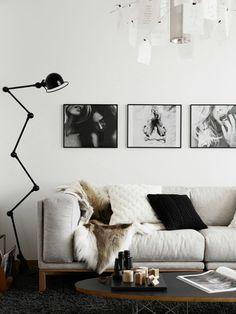 Le noir et blanc. Toujours classe dans un intérieur! Ils sont disponibles sur le site acaza.fr