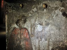 Not even death can do us apart...    From the Catacomb of st.Gaudioso in Naples, Italy