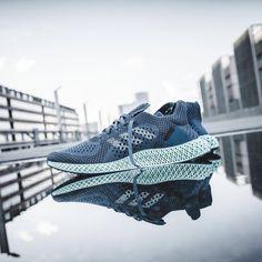 outlet store c1c11 3d876 Adidas Runner 4D Onix Aero Green