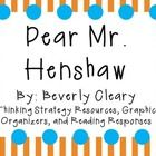 Everything you need for a novel study on Dear Mr. Henshaw by Beverly ...