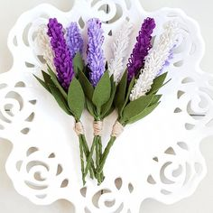 Dit item is niet beschikbaar,post_tags] Felt Flower Bouquet, Diy Bouquet, Flower Bouquet Wedding, Felt Flowers, Diy Flowers, Pretty Flowers, Fabric Flowers, Lavender Bouquet, Lavender Flowers