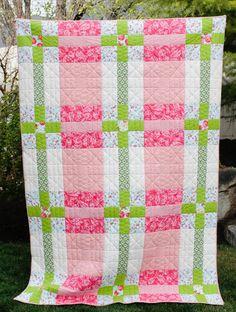 Campbell Plaid Quilt Pattern