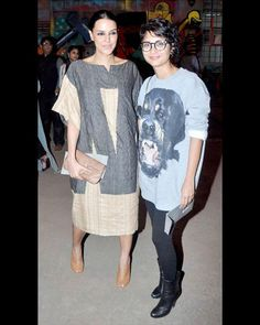 #NehaDhupia and #KiranRao were all smiles for the shutterbugs.  #Bollywood #BollywoodCelebrityPhotos  For More Updates Just Visit www.biscoot.com #LakmeFashionWeek