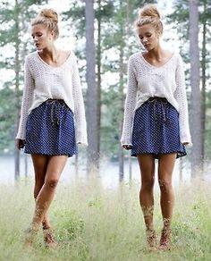 Sweater & Skirt