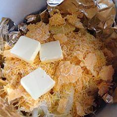 Bacon and Cheese Crock-pot potatoes