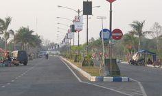Pedagang Kaki Lima Ponorogo Yang Berjualan di Pinggir Jalan Dipusatkan Di Jalan Baru