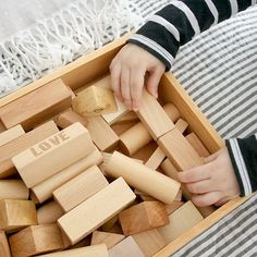 www.scandinavianhomee.blogspot.com  #woodenstory #woodenblocks #ecotoy #woodentoy #handcrafted #naturalblocks #ahojhome