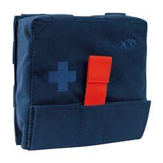 IFAK Pouch S Blauw First Aid Kit van Tasmanian Tiger met snelle toegang tot de uitrusting. Het paneel voorzien van afzonderlijke lussen kan eenvoudig uit het etui worden getrokken. https://www.urbansurvival.nl/product/ifak-pouch-s-blauw/