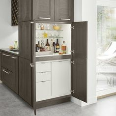 Stacked Cocktail Cabinet