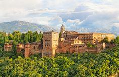Granada Romantic Destinations in Europe - Copyright  Shchipkova Elena - European Best Destinations
