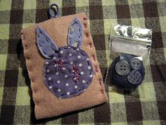 """it's a cute fabric """"red pocket"""" with lucky """"magnet"""" inside..."""